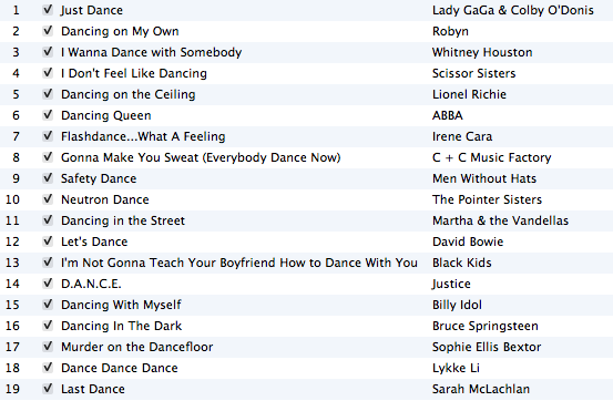 Today S Playlist The Just Dance Edition Ddpp Toronto