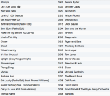 DJ Suzie G's May 26 playlist!
