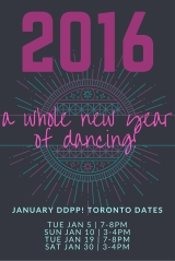 Our 2016 New Year's Resolution: Dance Dance Dance!